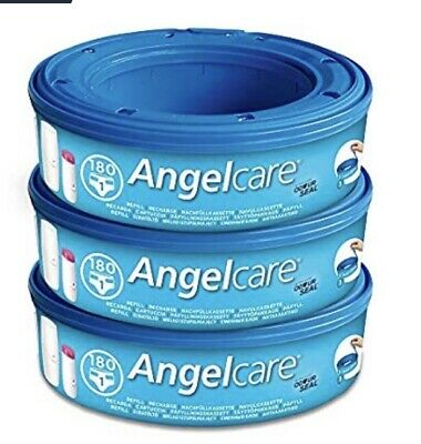 Angelcare Nappy Disposal Refill Cassette (pack Of 3)