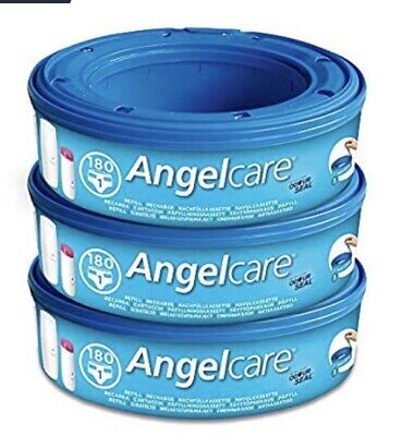 Angelcare Nappy Disposal System Plus 1xRefill Cassette