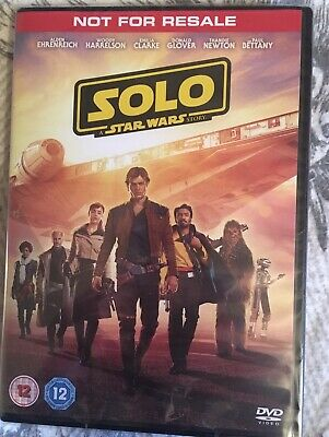 Solo: A Star Wars Story UK DVD BRAND NEW IN CELLOPHANE