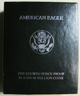 1999 W American Eagle One-Fourth Ounce Proof Platinum Bullion Coin