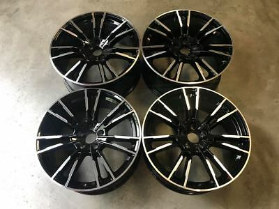 "19"" 706M F90 M5 Style Alloy Wheels - Gloss Black Machined - BMW G30 G31 5 Series"