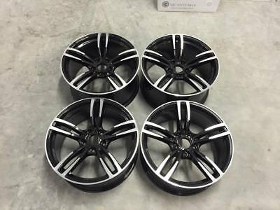"19"" 437M M3 M4 Style Wheels Gloss Black Machined BMW E90 E91 E92 E93 3 Series"