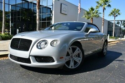 2013 Bentley Continental GT CONTINENTAL GT V8 CONVERTIBLE, NECK WARMER, HEAT/V 2013 Bentley Continental GT V8 CONTINENTAL GT V8 CONVERTIBLE, NECK WARMER, HEAT/
