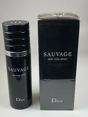 f81963c5c1 SAUVAGE VERY COOL Spray By Christian Dior 3.4 oz 100 ml Fresh EDT New Box  SEALED