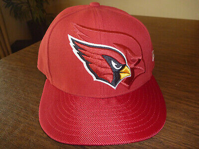 853102306 ARIZONA CARDINALS NEW ERA 59FIFTY NFL ON-FIELD SIDELINE RED FITTED CAP Sz 7  1