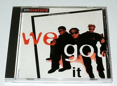 Im We Got It Rare 4 Tracks 1995 R B Hip Hop Imx Mca 3584