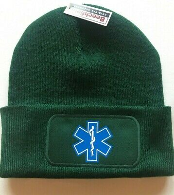 Star Of Life  Beanie - Wooly / Hat / Medic/ambulance