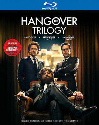The Hangover Trilogy - w/ Bonus Documentary [Blu-ray] New and Factory Sealed!!