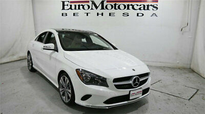 2019 Mercedes-Benz CLA CLA 250 4MATIC Coupe mercedes benz cla 250 used sedan compact 17 19 navigation blind spot lease white