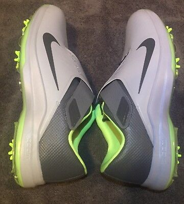 new arrival b0236 d6188 NIKE TW 17 Tiger Woods Mens Golf Shoes Wolf Gray (880955-002) Size