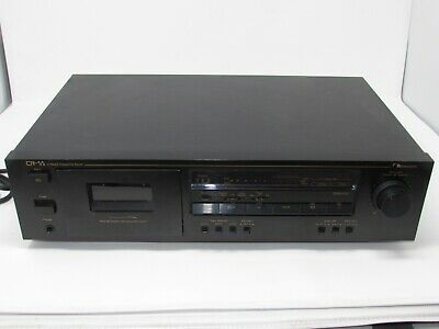 Nakamichi MODEL CR-1A STEREO CASSETTE TAPE DECK 2 HEAD BLACK WORKING