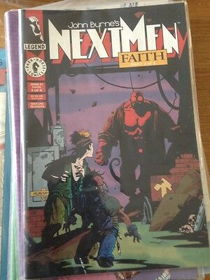 John Byrne's NextMen # 07 - #30 - includes first Hellboy in colour