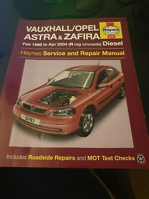Vauxhall Opel Astra & Zafira Service and Repair Manual by Haynes Publishing Gro…