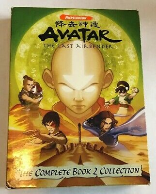 Avatar: The Last Airbender - Book 2: Earth - The Complete Collection (DVD Set)
