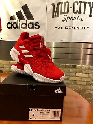 4c07aaf4d200b ADIDAS MEN S PRO Bounce 2018 Basketball Shoe - Power Red White ...