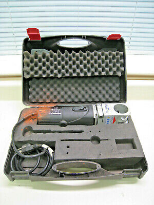 Inelco Neutrix Tungsten Electrode Portable Grinding Machine w/ Case Used