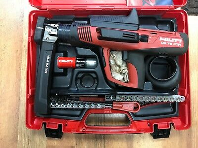 Hilti Dx 76-PTR Semi-Automatic Powder Actuated Tool Gun