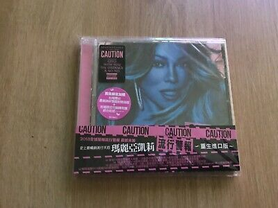 Mariah Carey Caution Taiwan CD *New*