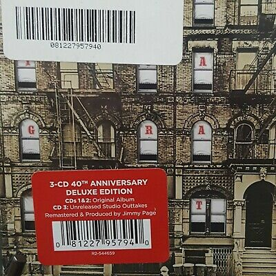 Led Zeppelin Cd - Physical Graffiti 3Cd [Deluxe Edition] 40Th Anniversary - New