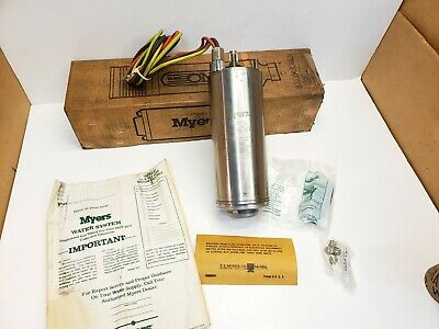 "New Myers 4"" Submersible Water Well Pump Motor 3 Wire 230V, 1/3 HP Free Shipping"