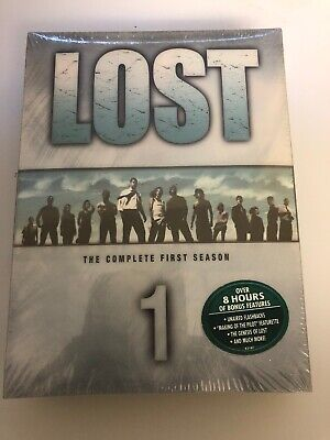 Lost - The Complete First Season (DVD, 2005, 7-Disc Set)