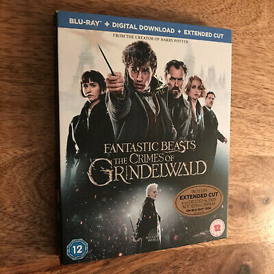 Fantastic Beasts The Crimes of Grindelwald Region Free 2 Disc Blu-ray +Slipcover