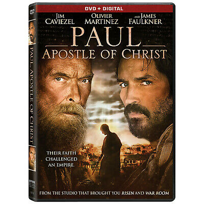 Paul, Apostle of Christ (2018) - DVD - Region 1 (US & Canada)