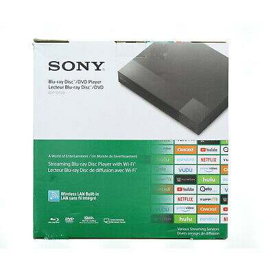 Sony BDP-S3700 Streaming Blu-ray DVD Player with Wi-Fi