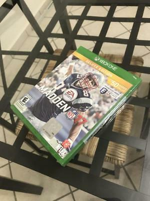 Madden NFL 17: Deluxe Edition (Microsoft Xbox One, 2016)