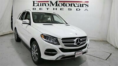 2016 Mercedes-Benz GLE 4MATIC 4dr GLE 350 mercedes benz gle 350 used suv crossover 15 17 navigation blind spot black class