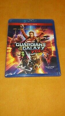 Brand New/sealed Guardians Of The Galaxy Vol. 2 Blu-Ray/dvd/digital Marvel