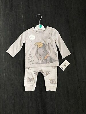 Babys Unisex 2 Piece Outfit Size 0/3mths