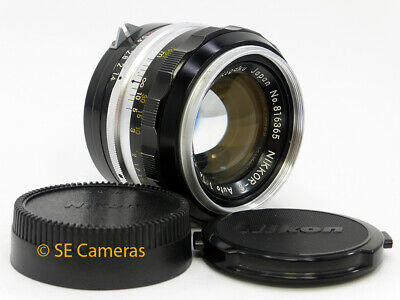 Nikon Nikkor S Pre Ai 50Mm F1.4 Fast Prime Lens *very Good Condition*