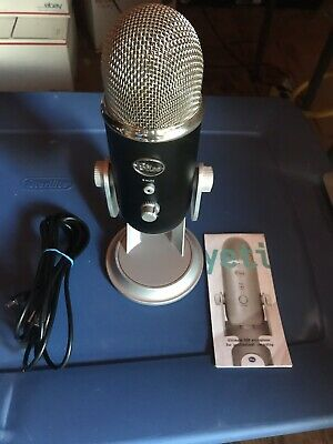 Blue Yeti Condenser Microphone (No Box)