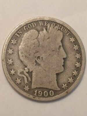 1900-O Barber Half Dollar - Scarce!!  Better Date!!
