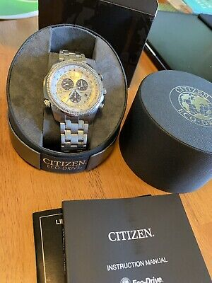 citizen eco-drive mens pre owned E820