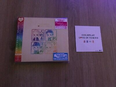 Coldplay Love In Tokyo Japan CD & Obi Sticker *Limited Edition*