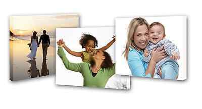Personalised Canvas Prints Framed Ready To Hand Your Photo Printed To Canvas