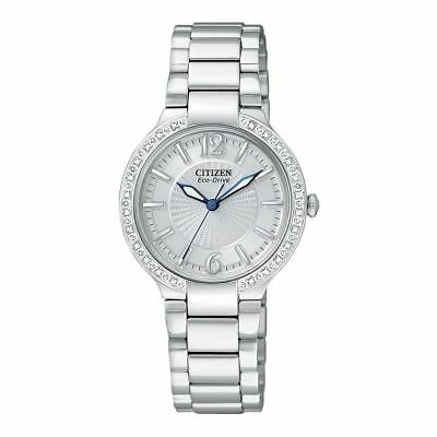 Citizen Eco-Drive Firenza Women's Diamond Accents 29mm Watch EP5970-57A