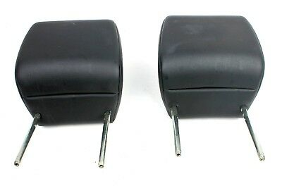 08-12 Land Rover LR2 Front Head Rest Headrest Left Right Black Pair OEM