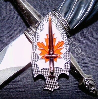 Canada Canadian Special Operations Basic Qualification Badge Pin