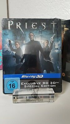 Priest - 2D / Real 3D - Limited Blu ray Steelbook Edition First Print uncut NEW