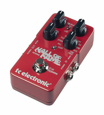 TC Electronic Hall of Fame Reverb Guitar Effect Pedal