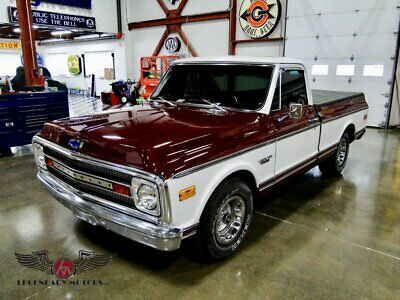 1969 CST-10 -- 1969 Chevrolet CST-10, Maroon with White