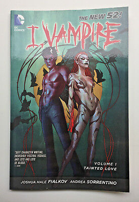 I Vampire:Tainted Love by Joshua Hale Fialkov & Andrea Sorrention DC Comics 2012