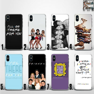 Friends Tv Series Monica's Door Quote Cute Thin Uv Case Cover For Iphone