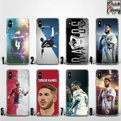 Sergio Ramos Real Madrid Football Player Thin Uv Case Cover For Iphone