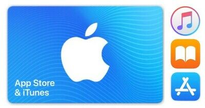 $10 Apple iTunes - App Store gift card - NEW