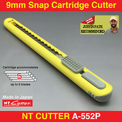 NT CUTTER A552P–9mm Cartridge Cutter snap off blade WRAPPING TOOL SYDNEY STOCK