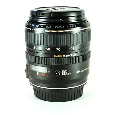 Canon EF 28-105mm f/3.5-4.5 II USM Lens, very good condition